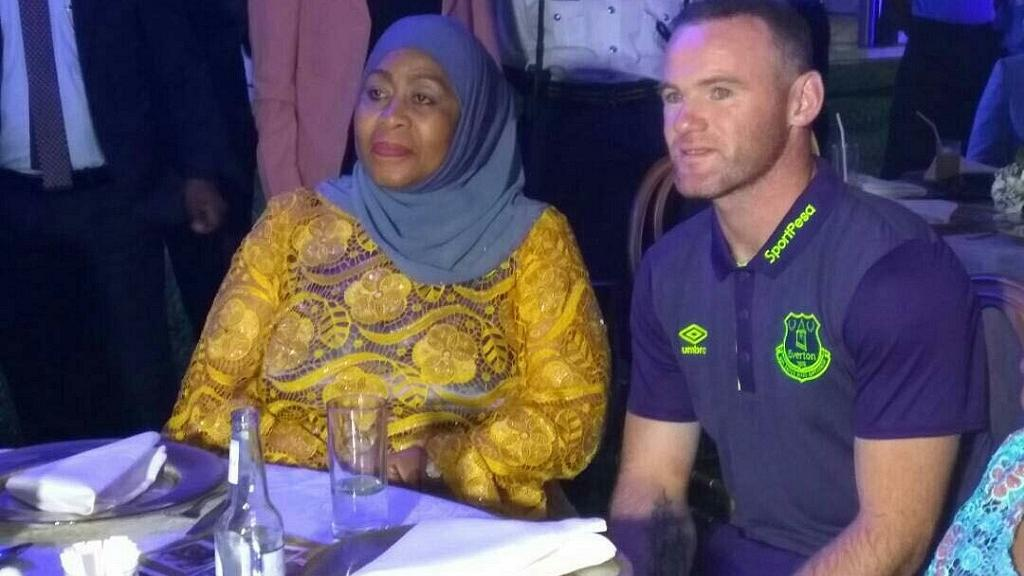 Rooney helps Tanzania veep on who to support