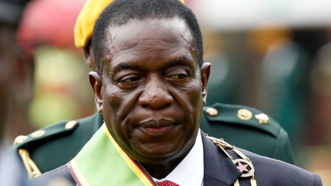 Emmerson Mnangagwa has selected military figures for his cabinet