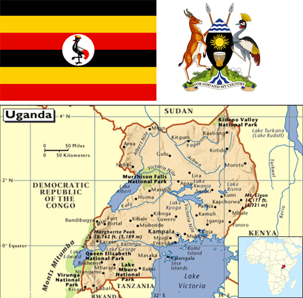Country Facts Uganda Africas No 1 Business Tourism Portal