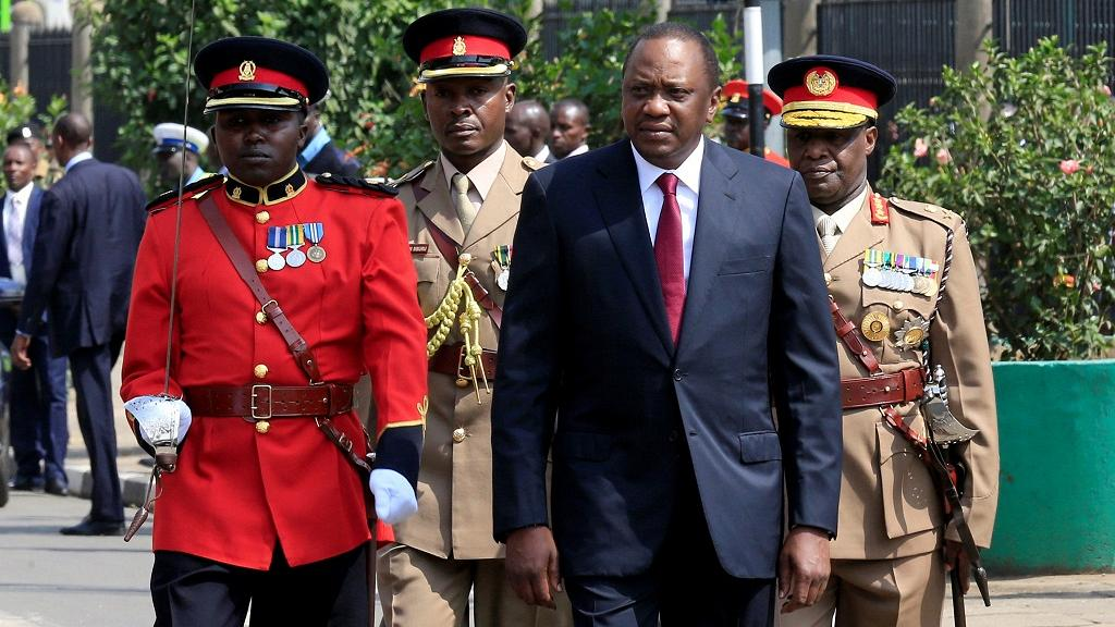 Kenyan President Uhuru Kenyatta opened parliament on Tuesday by warning against divisive and destructive politics