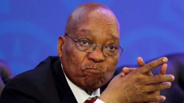South Africa's President Jacob Zuma denies allegations of corruption